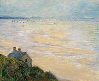 Monet, Claude - Hut in Trouville, Low Tide, the (1881).jpg