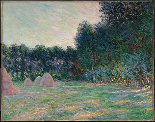 Meadow with Haystacks near Giverny