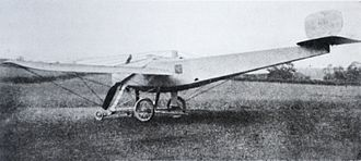 Bristol Coanda Monoplanes - A Caproni-Bristol aircraft in 1913