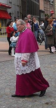 Monseigneur Roger Vangheluwe Brugge