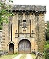 Montcléra - Château - Porte d'entrée fortifiée -958.jpg