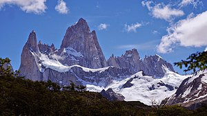 Fitz Roy - Mount Fitz Roy on January 16 2015
