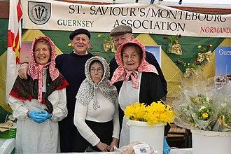 Saint Saviour, Guernsey - Image: Montebourg, Jumelage, Saint Saviour, Guernsey
