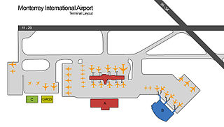 Phoneix Airport Map With Nearby Hotels And Rental Cars