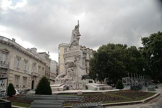 Maximiano Alves - Monumento aos Mortos da Grande Guerra, Avenida da Liberdade, Lisbon