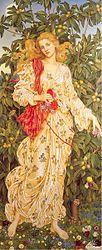 Evelyn De Morgan: Flora - 1894