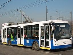 Trolebús Moscú