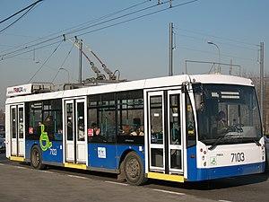 """Trolza - Trolza-5265 """"Megapolis"""" in Moscow in 2007"""