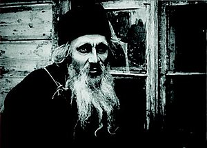 Cinema of Russia - Ivan Mozzhukhin as the title character in Yakov Protazanov's 1917 film, Father Sergius. It was the last film of the Russian Empire era.