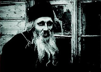 Father Sergius - Ivan Mozzhukhin as the title character in Yakov Protazanov's 1917 film, Father Sergius.
