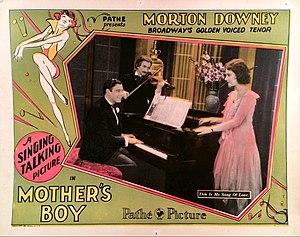 Mother's Boy (1929 film) - Lobby card