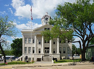 Franklin County, Texas - Image: Mount Vernon May 2018 17 (Franklin County Courthouse)