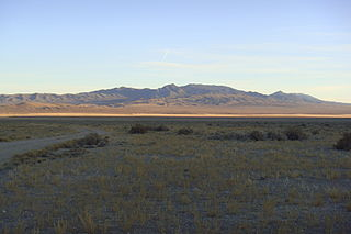 Hamlin Valley valley on both sides of the Nevada–Utah state line