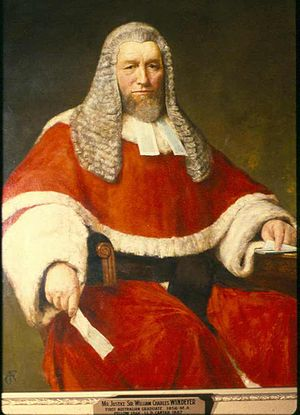 William Charles Windeyer - Image: Mr Justice Sir William Charles Windeyer