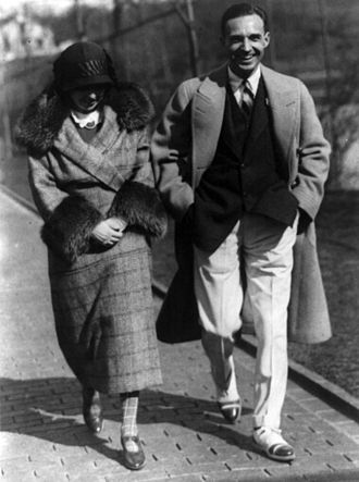 Edsel Ford - Edsel and Eleanor Ford, 1924