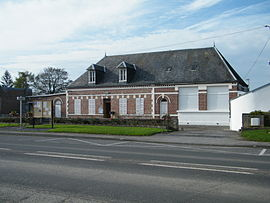 The town hall in Muille-Villette