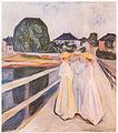 Munch, Sommernacht (1903, Linde Frieze).jpg