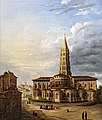 Musée du Vieux Toulouse - La basilique Saint-Sernin - Claire Arnoux - 1840 Inv.85.14.1.jpg