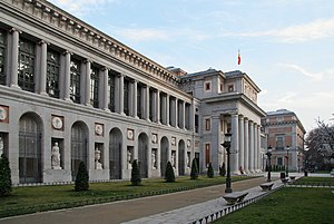 English: Prado Museum, in Madrid (Spain). Espa...