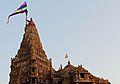 N-GJ-126 Dwarkadhish Temple, Dwarka Flag Hoisting.jpg