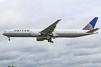 N2136U - B77W - United Airlines
