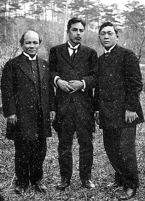Uchimura Kanzō - Nakada Juzi, Uchimura Kanzō, Kimura Seimatu