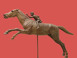 Jockey of Artemision - Image: NAMA Jockey Artémision