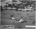 NASPH ^119574- 20 Sept 1943, USS Arizona- Salvage- Aerial view from portside - NARA - 296942.tif
