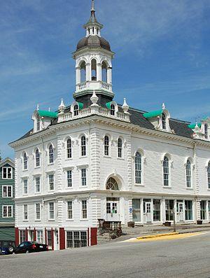 North Brookfield, Massachusetts - North Brookfield Town Hall