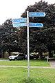 NCN signs, Bridge Street, Neston.jpg