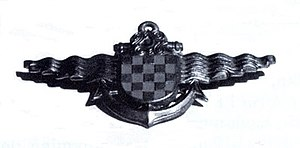 Navy of the Independent State of Croatia - Image: NDH Navy badge