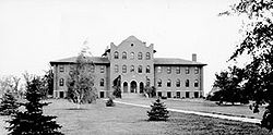 North Dakota School for the Blind in 1908