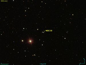 NGC 33 as seen by the SDSS.