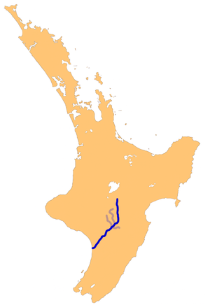 Rangitikei River - The Rangitikei River system