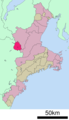 Nabari in Mie prefecture.png