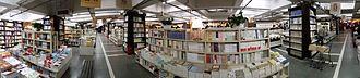 Librairie Avant-Garde (Mount Wutai Branch) - panoramic view inside Librairie Avant-Garde