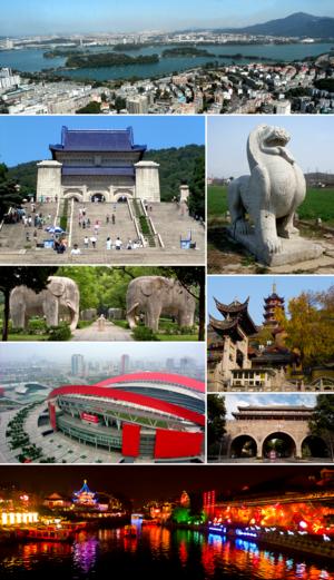 Một số phong cảnh tiêu biểu ở Nam Kinh