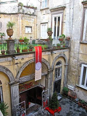 Palazzo Venezia, Naples - The courtyard