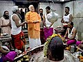 Narendra Modi offered prayers at Kashi Vishwanath Mandir & Sankat Mochan Mandir.jpg