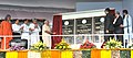 Narendra Modi unveiling the plaque to dedicate the National Institute of Science Education & Research (NISER) to the Nation, in Bhubaneswar, Odisha. The Governor of Odisha, Shri S.C. Jamir, the Chief Minister of Odisha.jpg
