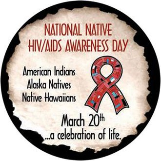 Native American disease and epidemics - Official seal of the National Native HIV/AIDS Awareness Day