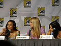 Naya Rivera, Heather Morris & Jenna Ushkowitz (4853144446).jpg