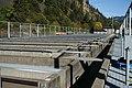 Near Underwood, WA, Chinook Salmon Rearing Pens, Spring Creek National Fish Hatchery, 2008 - panoramio.jpg