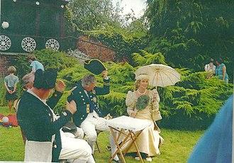 Nelson Garden - Image: Nelson 2002 celebrations, Nelson Garden, Monmouth