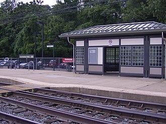 Neshaminy Falls station - Image: Neshaminy Falls R3