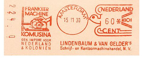 Netherlands stamp type D2.jpg