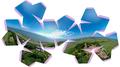 Neuwerk Herrengarten pentagonal icosatetrahedron.png