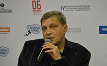 Nevzorov at Open Library debate 140928.jpg