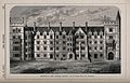 New College, Oxford. Wood engraving by J. Walmsley, 1872, af Wellcome V0014141.jpg