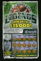 New England Legends Lotto Ticket - found discarded - Olneyville, Rhode Island - 2008.tif